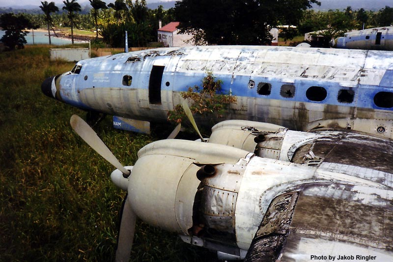 Aviones abandonados y accidentados