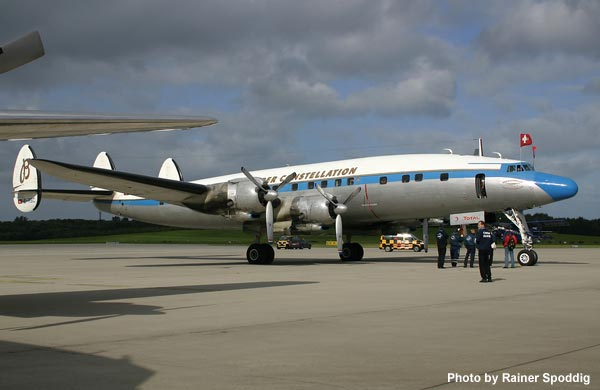 SCFA Super Connie at Hamburg Airport Days