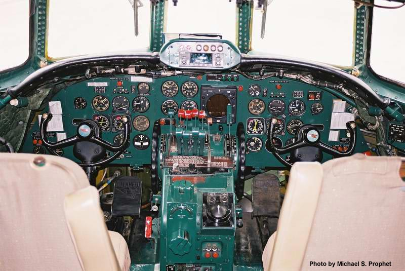 Where can I find a good source for airplane cockpits throughout history?
